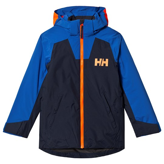 Helly Hansen Navy & Blue Twister Junior Ski Jacket 597