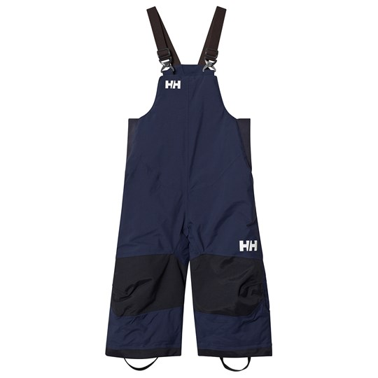 Helly Hansen Blue Colourblock Rider 2 Insulated Kids Ski Bib Pants 689