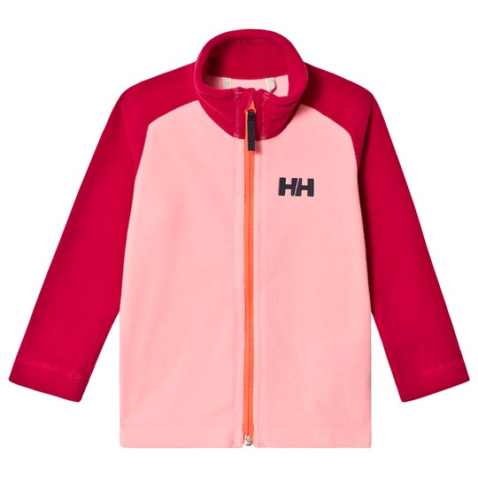 Helly Hansen Pink Colourblock Daybreaker Kids Mid Layer 167
