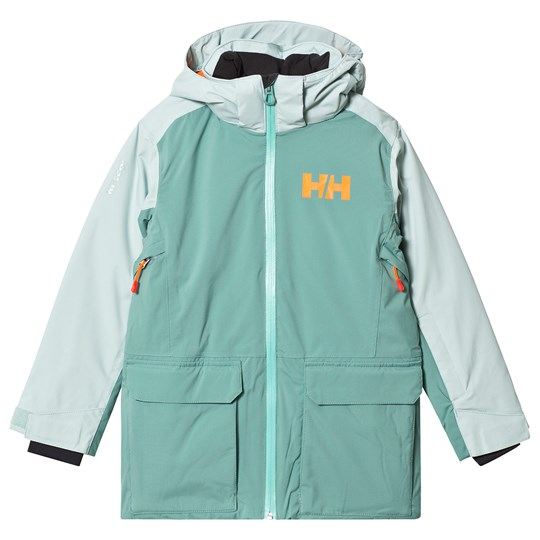 Helly Hansen Mint Green Skyhigh Junior Ski Jacket 443