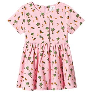 Image of Hootkid Pineapple Palm Tree Print Dress 1 år (1244353)