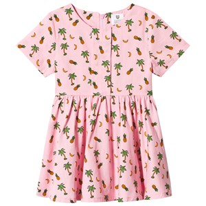 Image of Hootkid Pineapple Palm Tree Print Dress 12 years (1244362)