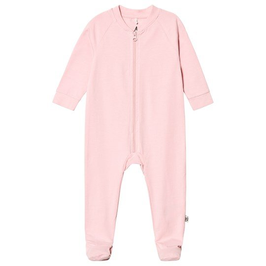A Happy Brand Footed Baby Body Pink