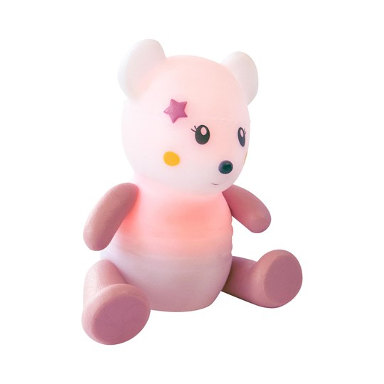 Pabobo Pabobo Lumilove Nightlight Mouse Pink Pink