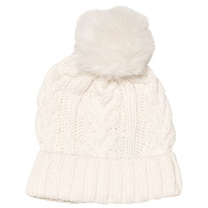 Image of GAP Ivory Frost Cable Hat S/M (55 cm) (3065574163)