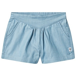 Image of Hootkid Blue Pleated V Waist Band Short 1 years (1244022)