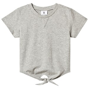 Image of Hootkid Grey Tie Front Tee 4 years (1244240)