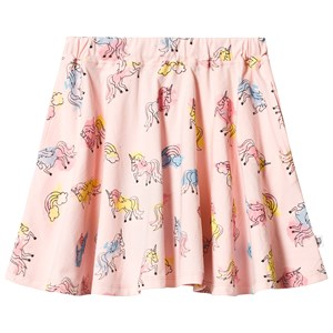 Image of Hootkid Pink Multi Unicorn Print Skirt 2 år (1244306)