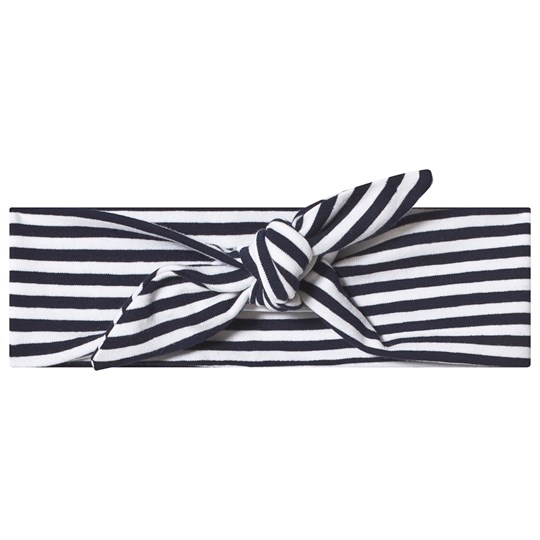 Hootkid Black and White Stripe Headband Black/ White Stripe