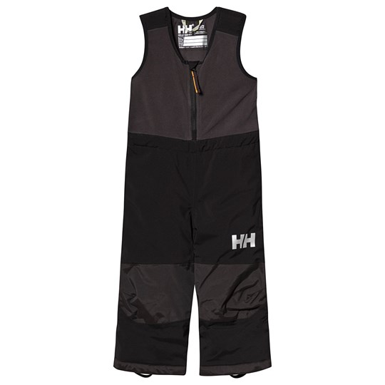 Helly Hansen Black Vertical Insulated Kids Ski Bib Pants 990