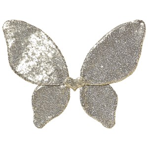 Image of Mimi & Lula Gold Sparkle Sequin Fairy Wings One Size (1319031)