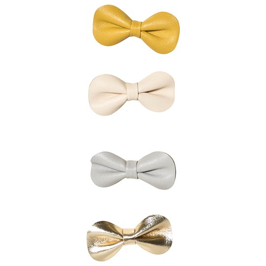 Mimi & Lula 4-Pack Metallic Bow Hair Clips 05