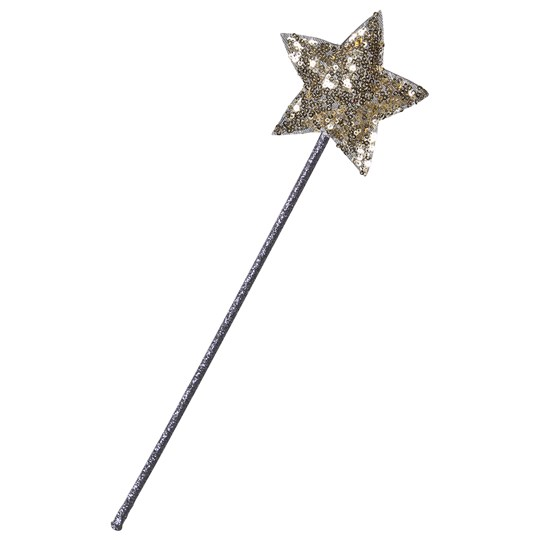 Mimi & Lula Purple Fairy Wand with Gold Sparkly Star 05