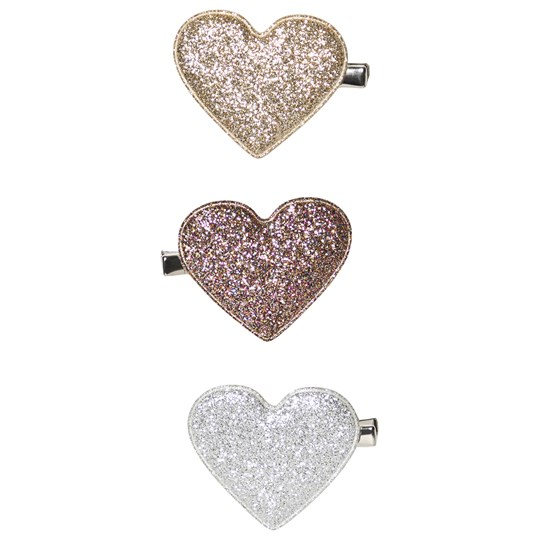 Mimi & Lula 3-Pack Glitter Heart Hair Clips 08