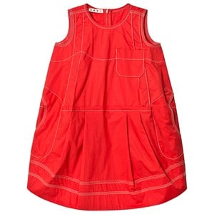 Image of Marni Red Dress 6 years (3125338127)