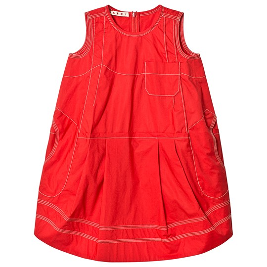 Marni Red Dress 0M416