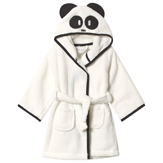 Mori White Panda Bathrobe Panda