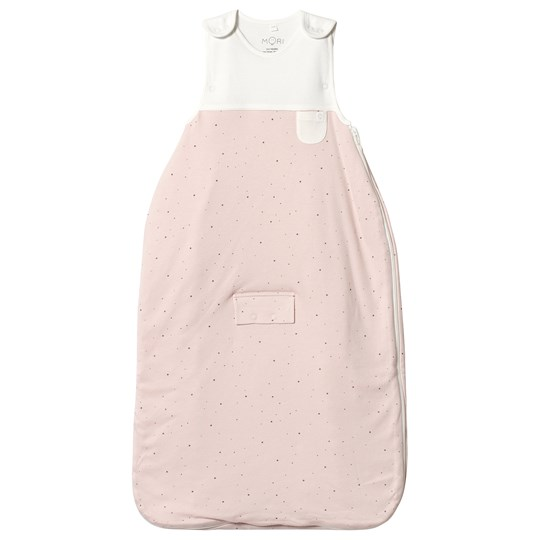 Mori Pink and White Clever Sleeping Bag Stardust