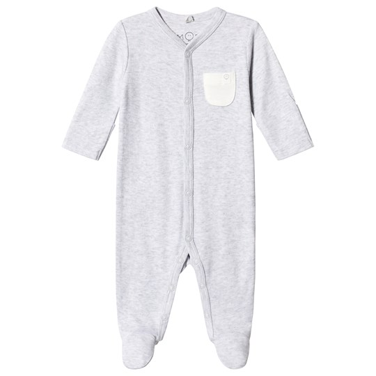 Mori Grey Footed Baby Body Grey