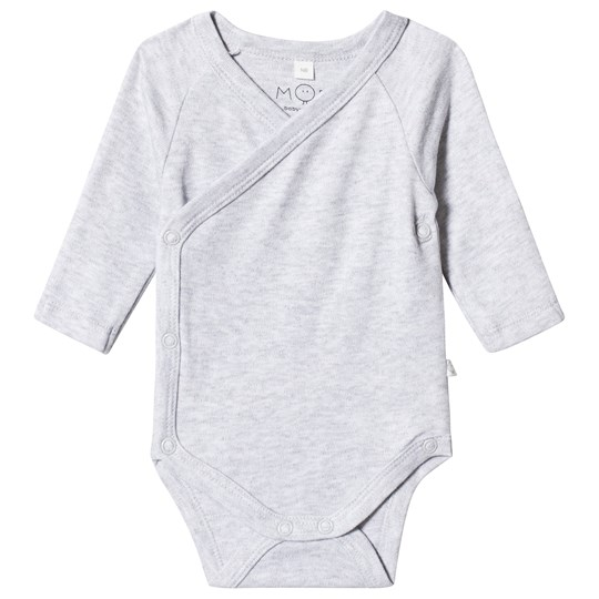 Mori Grey Wrap Body Musta
