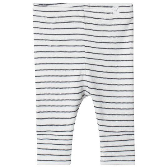 Mori Grey Stripe Leggings Grey Stripe