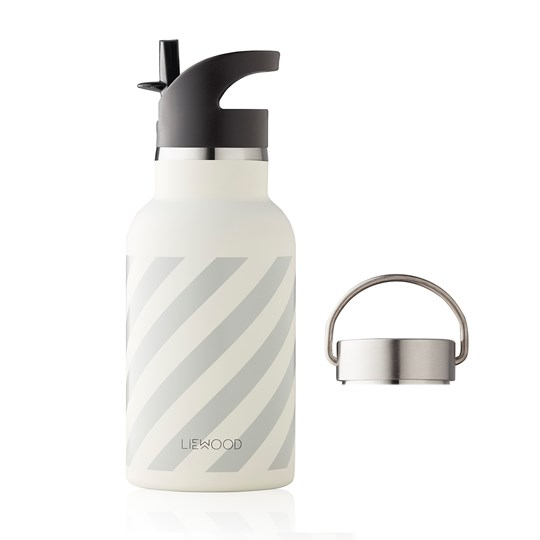 Liewood Anker Water Bottle Stripe/Dumbo Grey Dumbo grey