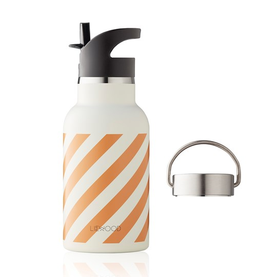 Liewood Anker Water Bottle Stripe/Mustard Mustard
