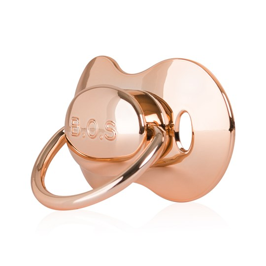 Bjällra of Sweden Pacifier 3m+ Rose Gold Rosé gold
