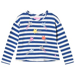 Tom Joule Blue and White Stripe Shooting Star Top