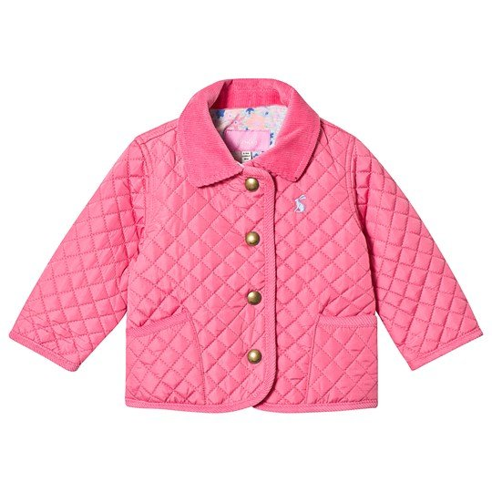 Tom Joule Hot Pink Quilted Jacket Hot Pink