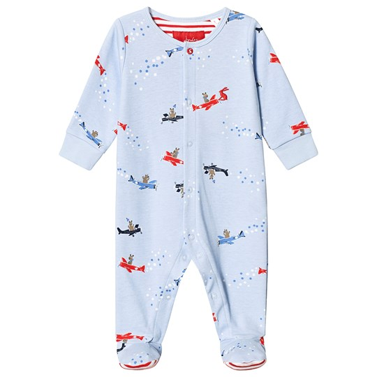 Joules Blue Flying Bear One-Piece Sky Blue flying Bears