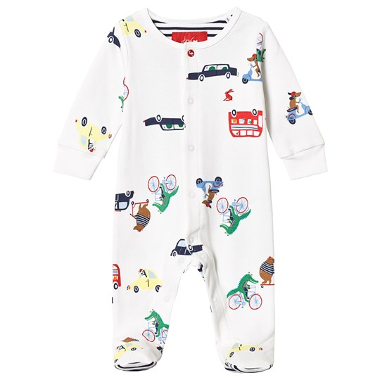 Tom Joule White Transport Animal One-Piece White Transport Animal