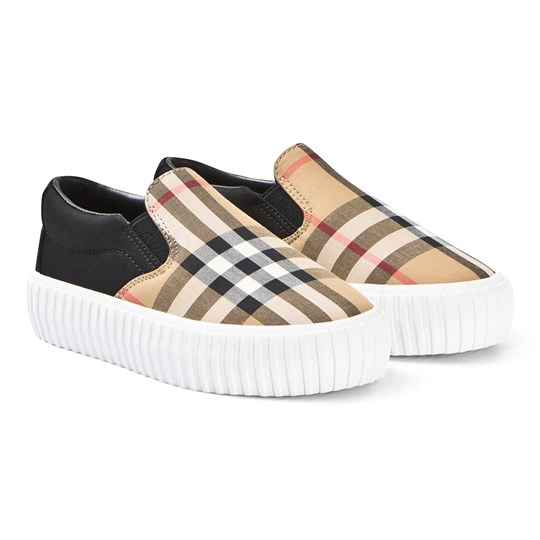 Burberry Beige Vintage Check Slip-On A1189