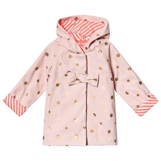 Billieblush Light Pink Dotted Raincoat