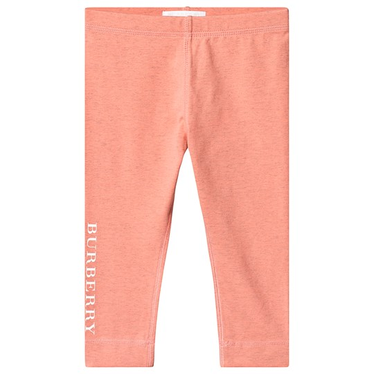 Burberry Pink Penny Logo Leggings A2182