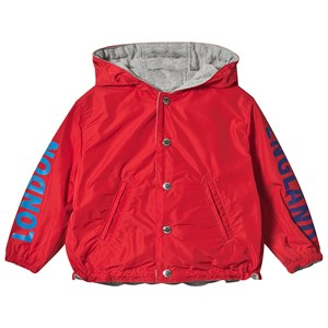 Image of Burberry Red Reversible Noah Jacket 12 months (3125276969)