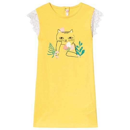 Billieblush Yellow Cat Dress