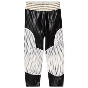 Image of Raspberry Plum Black and White Patch Enna Leggings 9-10 years (1254294)