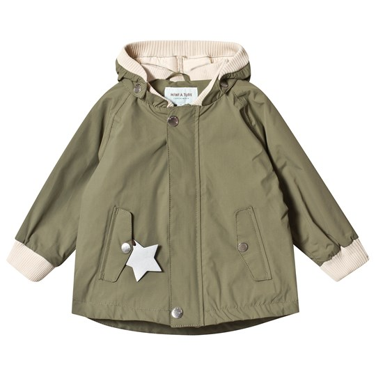 Mini A Ture Wally Jacket Deep Green Deep Green