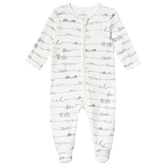 Mori Animal Family Zip Up Footed Baby Body Animal Family