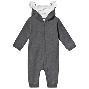 Image of Mori Charcoal Animal Family Onesie 6-9 months (3125353683)