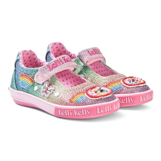 Lelli Kelly Pink Fantasy Unicorn Shoes Multi