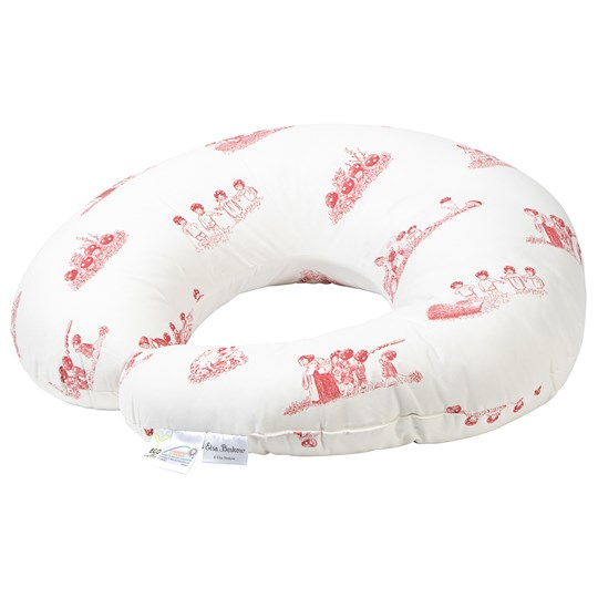 rattstart Nursing Pillow Dino Silhouette Red Red