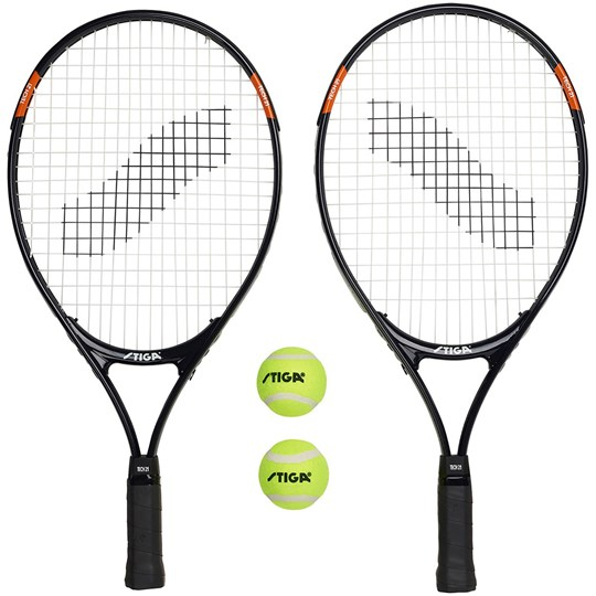 STIGA Tennis Set ,Tech 21 Musta