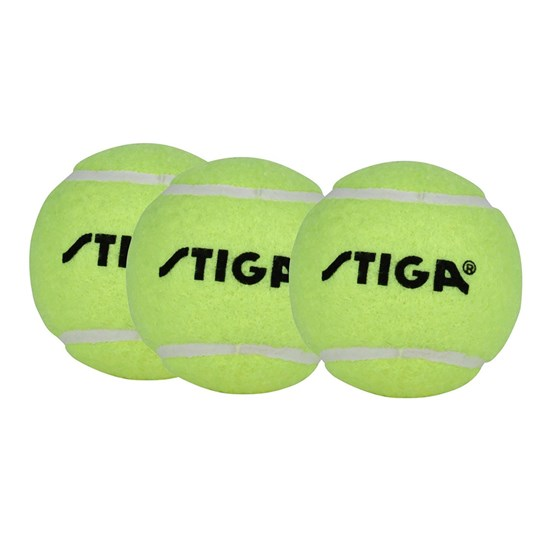 STIGA Tennisbollar, 3-pack Green