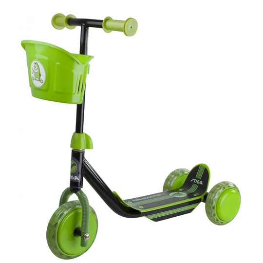 STIGA Kickbike Scooter Mini Kid Sort/Grøn Multi