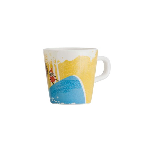 rattstart Forest & Lake Moomin Cup Yellow Multi