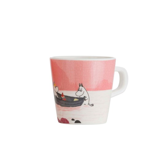 rattstart Forest & Lake Moomin Cup Pink Multi