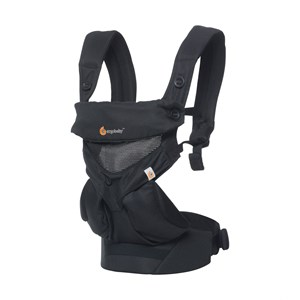 Image of Ergobaby 360 Cool Air Baby Carrier Black One Size (1311109)