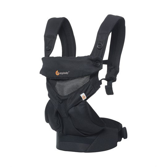 Ergobaby 360 Cool Air Baby Carrier Black Sort